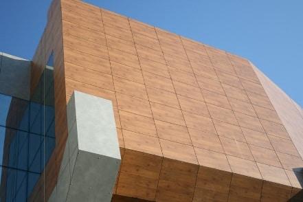 HPL панели облицовка фасада