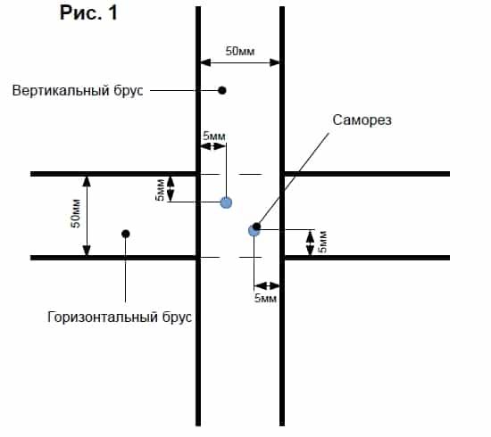 Монтаж фиброцементного сайдинга рис.1