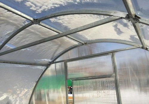 Теплица из сотового поликарбоната в Полтаве фото