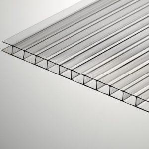 Прозрачный сотовый поликарбонат фото