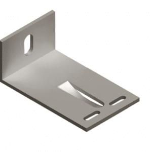 Кронштейн алюмінієвий 100*60*40 фото