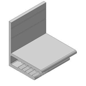 Профиль Алюминиевый F-Образный фото