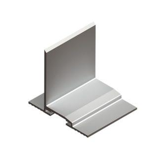 Профиль направляющий алюминиевый для Салазки фото
