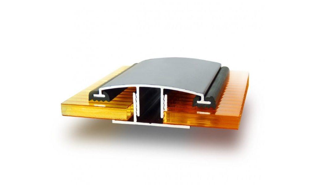 Алюминиевый соединительный профиль для поликарбоната – качество в деталях