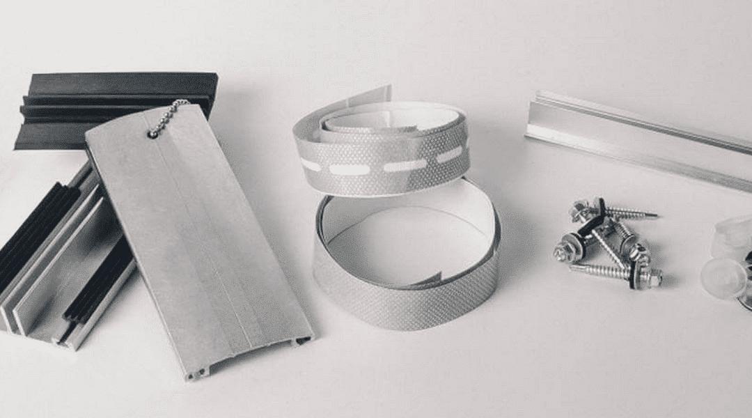 Виды комплектующих для поликарбоната