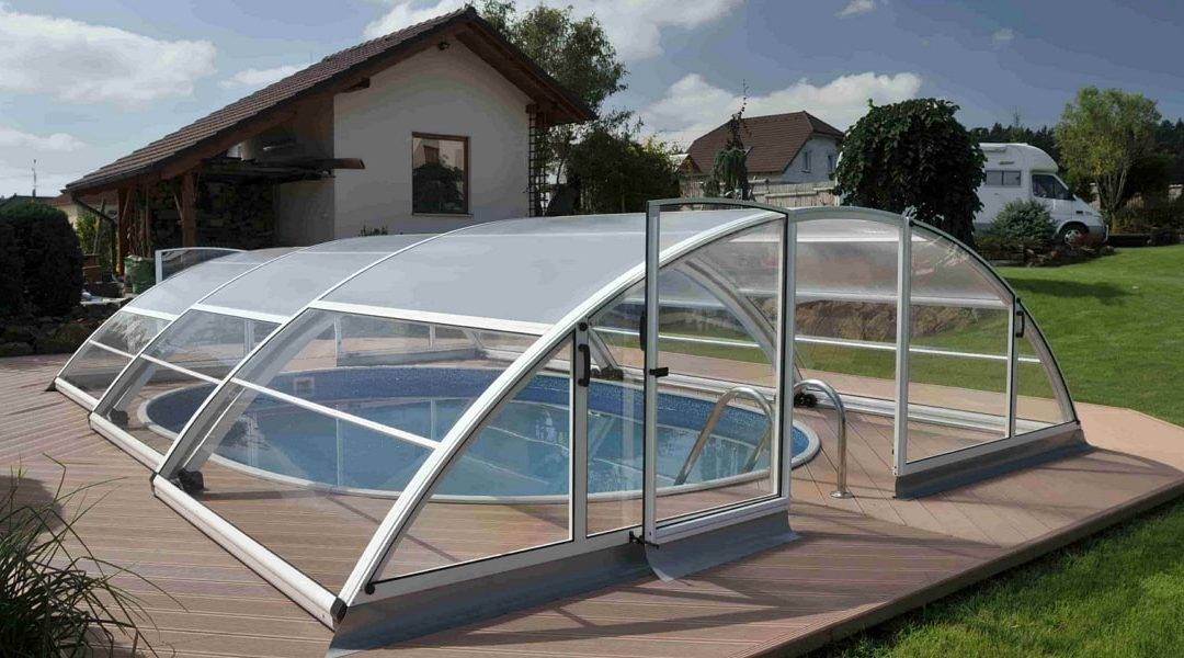 Павильон для бассейна из поликарбоната