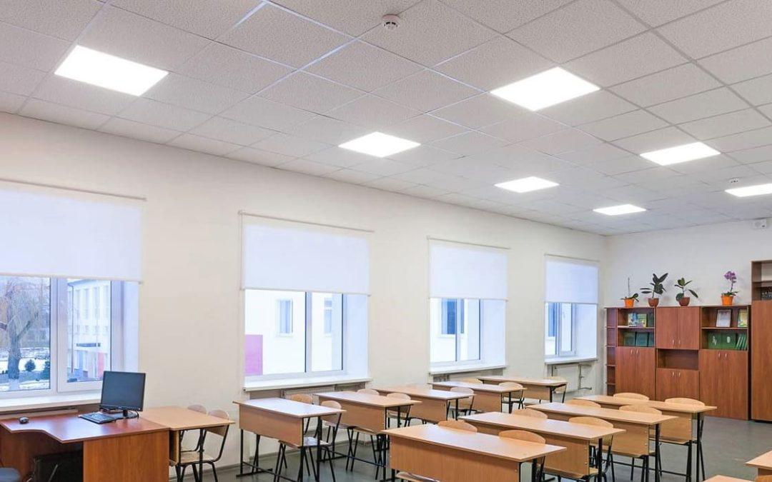 Требования для подвесного потолка в школе
