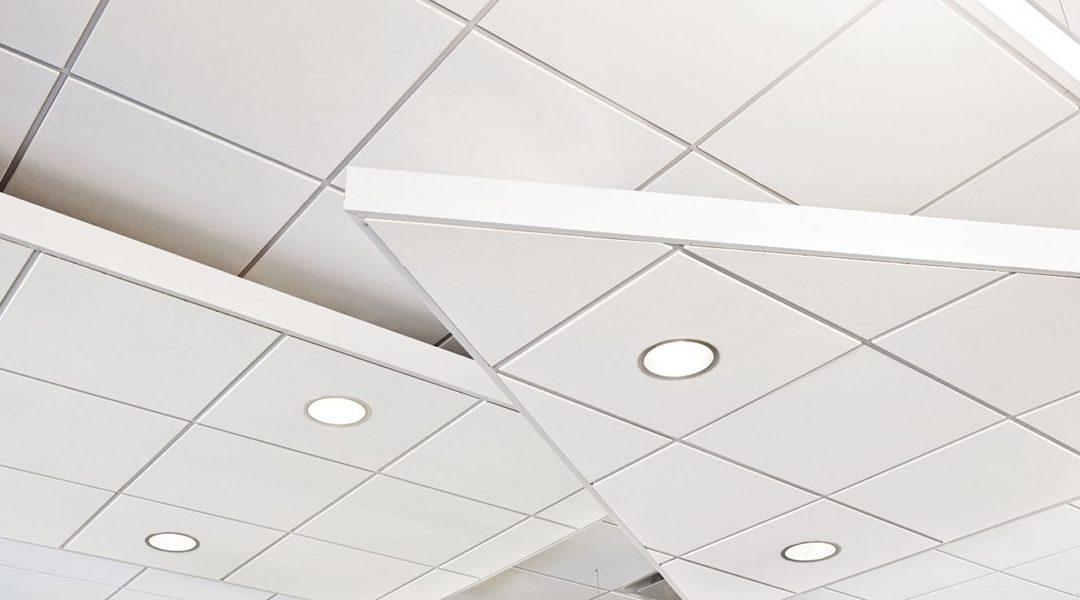 Проверка монтажа подвесного потолка Армстронг