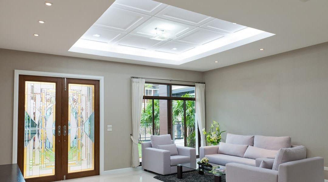 Как установить подвесной потолок при низкой высоте потолков?